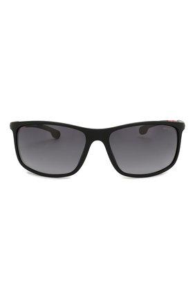Мужские солнцезащитные очки CARRERA черного цвета, арт. CARRERA 4013 003 | Фото 2