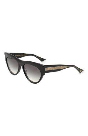 Мужские солнцезащитные очки DITA черного цвета, арт. BRAINDANCER/01 | Фото 1