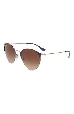 Женские солнцезащитные очки RAY-BAN коричневого цвета, арт. 3578-917513 | Фото 1