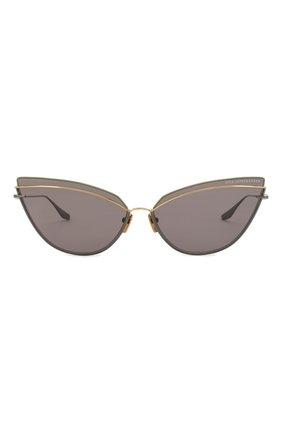 Женские солнцезащитные очки DITA серого цвета, арт. INTERWEAVER/03 | Фото 3