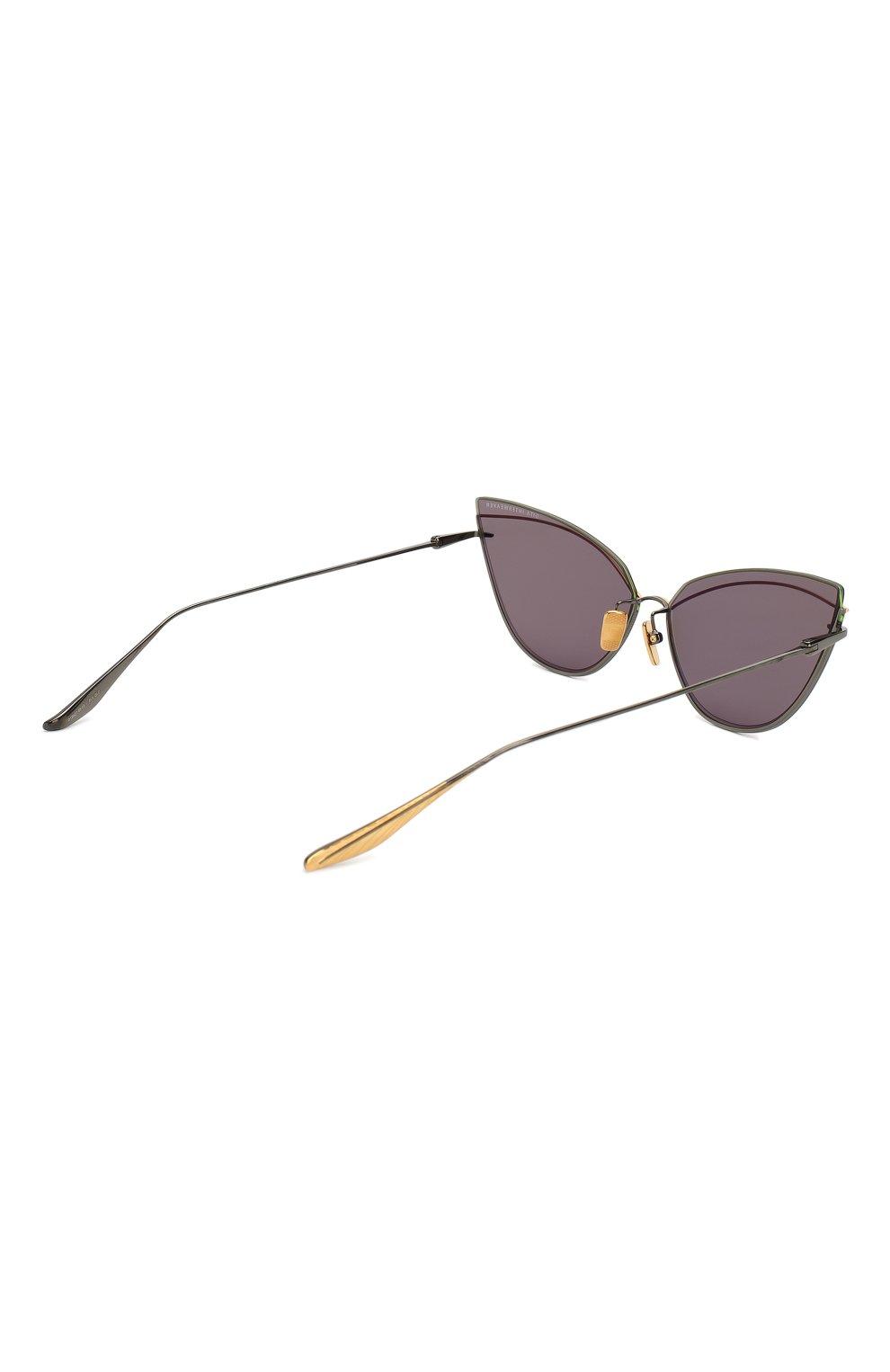 Женские солнцезащитные очки DITA серого цвета, арт. INTERWEAVER/03 | Фото 4