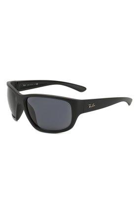 Мужские солнцезащитные очки RAY-BAN черного цвета, арт. 4300-601SR5 | Фото 1