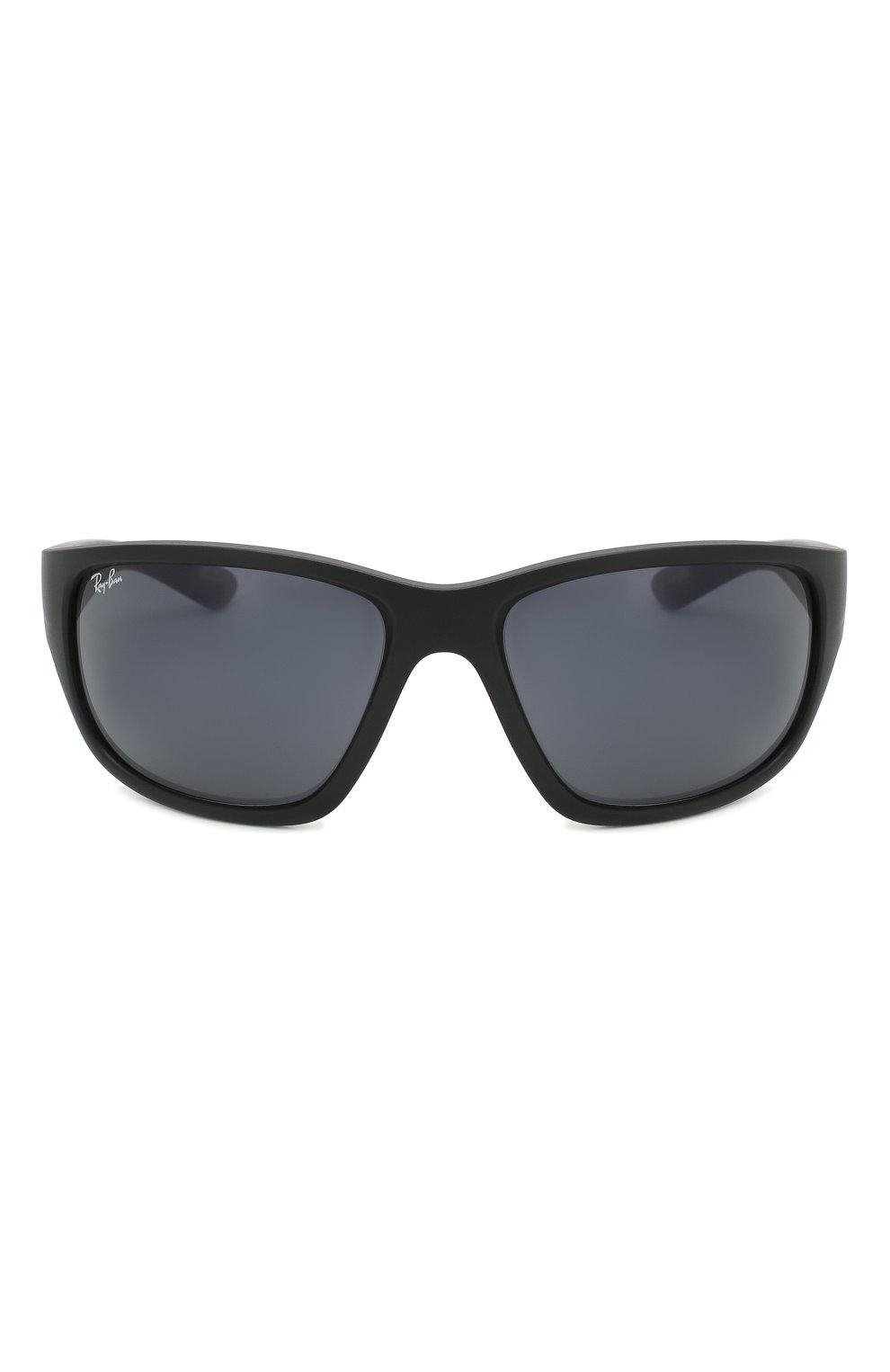 Мужские солнцезащитные очки RAY-BAN черного цвета, арт. 4300-601SR5 | Фото 2
