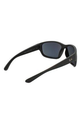 Мужские солнцезащитные очки RAY-BAN черного цвета, арт. 4300-601SR5 | Фото 3