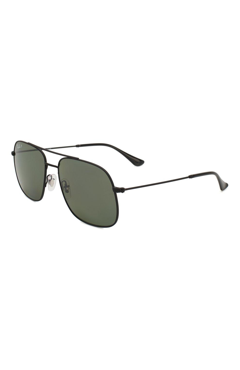 Женские солнцезащитные очки RAY-BAN черного цвета, арт. 3595-90149A | Фото 1