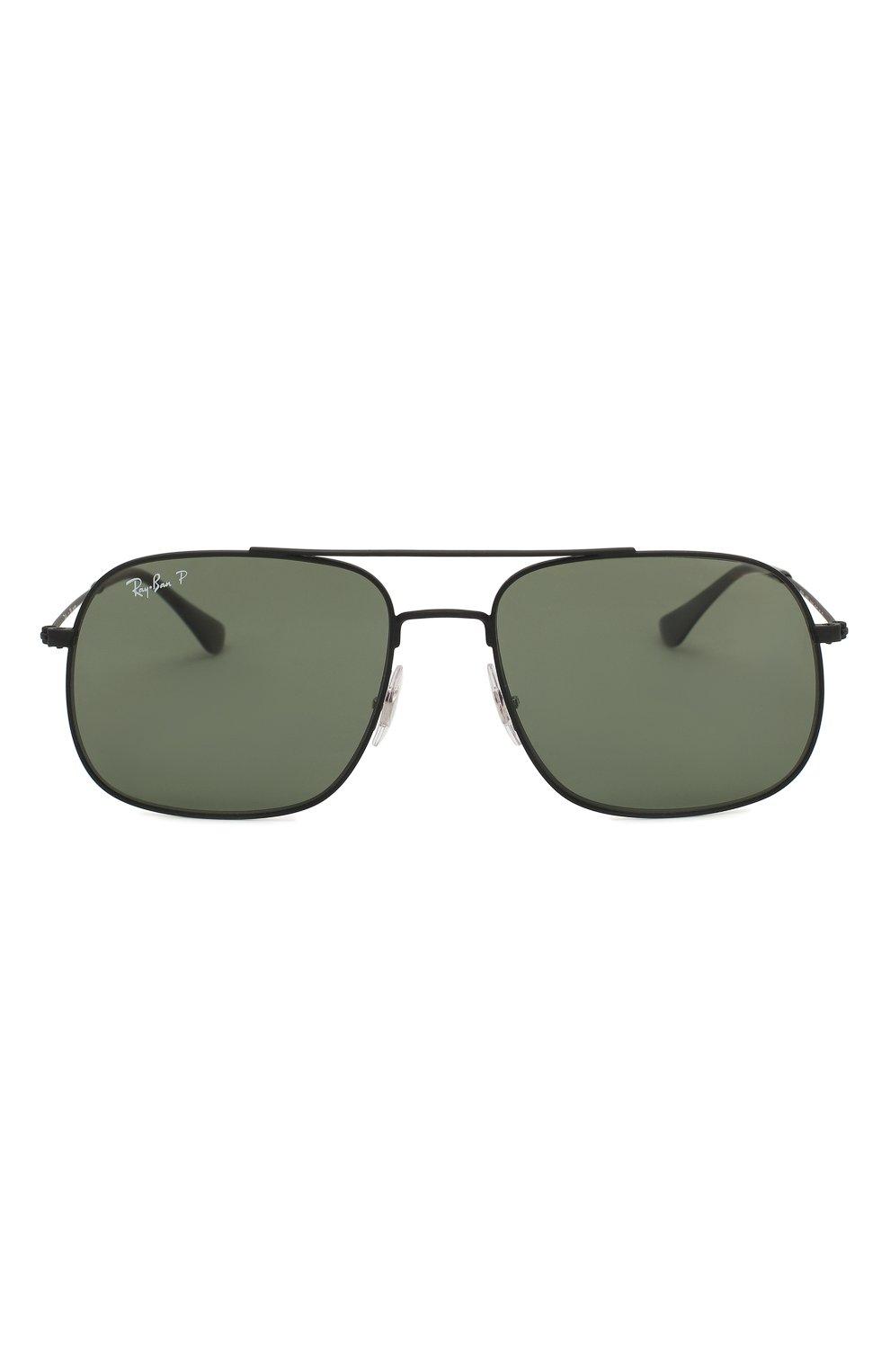 Женские солнцезащитные очки RAY-BAN черного цвета, арт. 3595-90149A | Фото 3