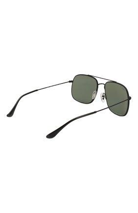 Женские солнцезащитные очки RAY-BAN черного цвета, арт. 3595-90149A | Фото 4