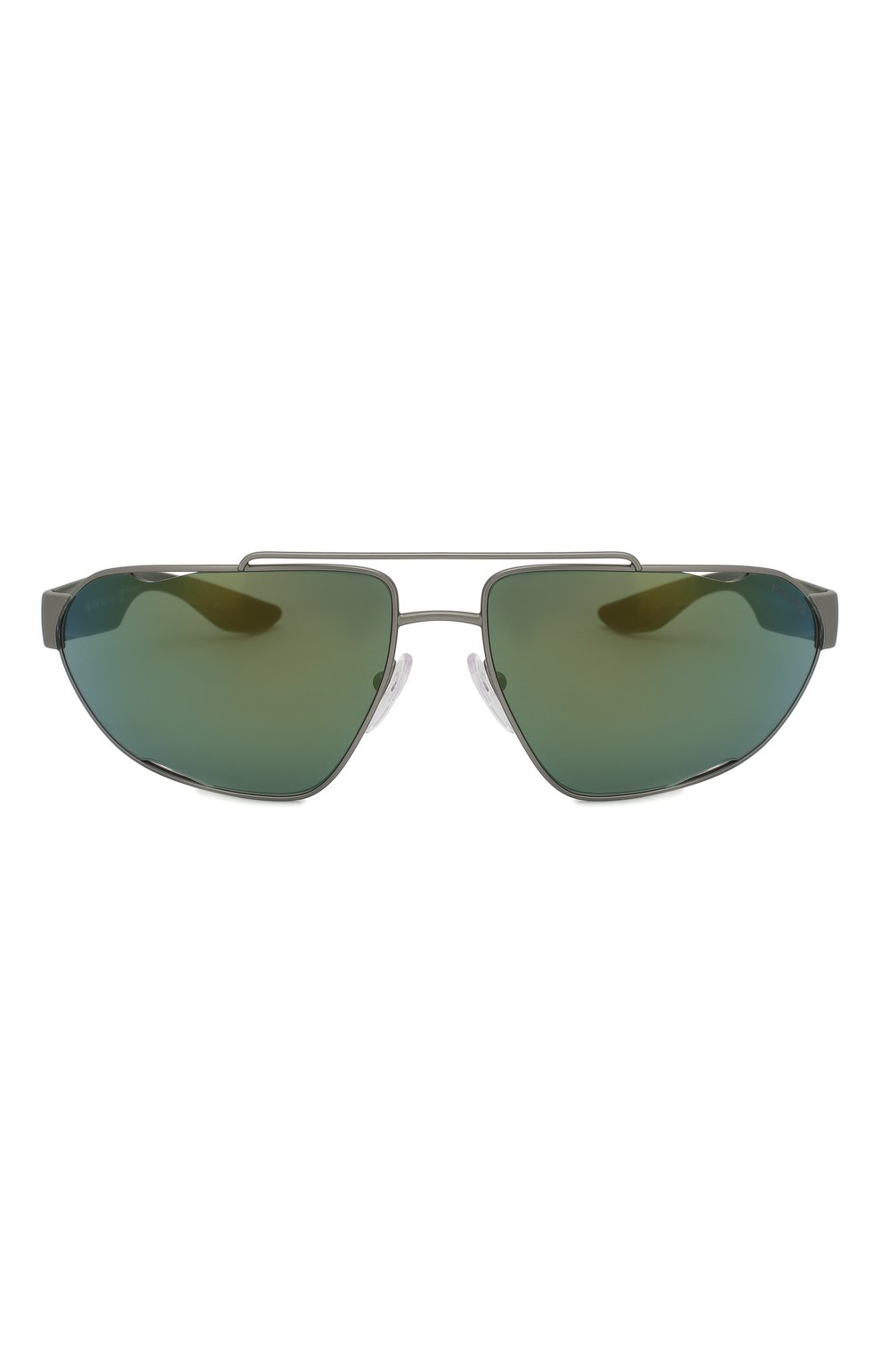 Мужские солнцезащитные очки PRADA LINEA ROSSA темно-серого цвета, арт. 56US-DG13C0 | Фото 2