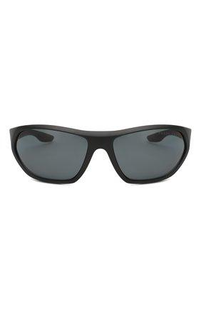 Женские солнцезащитные очки PRADA LINEA ROSSA черного цвета, арт. 18US-1B05Z1 | Фото 2
