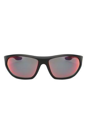 Мужские солнцезащитные очки PRADA LINEA ROSSA черного цвета, арт. 18US-1B09Q1   Фото 2