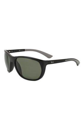 Мужские солнцезащитные очки RAY-BAN черного цвета, арт. 4307-601/9A | Фото 1