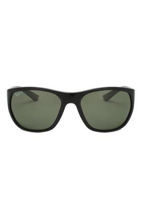Мужские солнцезащитные очки RAY-BAN черного цвета, арт. 4307-601/9A | Фото 2