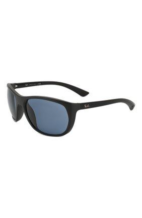Мужские солнцезащитные очки RAY-BAN черного цвета, арт. 4307-601S80 | Фото 1