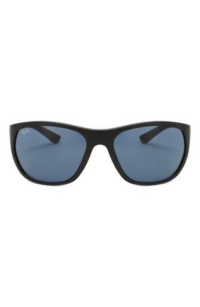 Мужские солнцезащитные очки RAY-BAN черного цвета, арт. 4307-601S80 | Фото 2