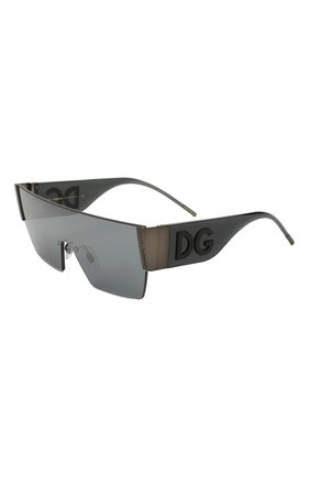 Мужские солнцезащитные очки DOLCE & GABBANA темно-серого цвета, арт. 2233-12866G | Фото 1