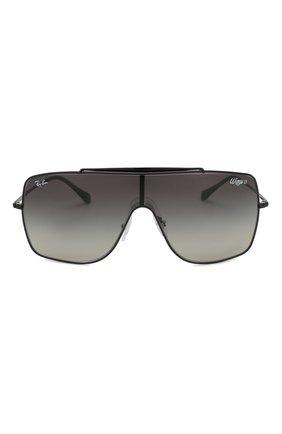 Мужские солнцезащитные очки RAY-BAN черного цвета, арт. 3697-002/11 | Фото 2