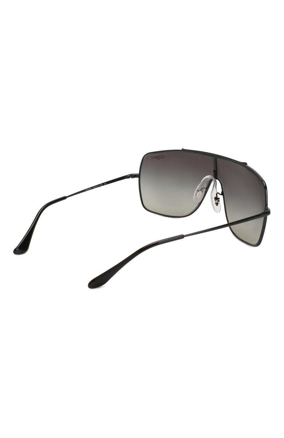 Мужские солнцезащитные очки RAY-BAN черного цвета, арт. 3697-002/11 | Фото 3