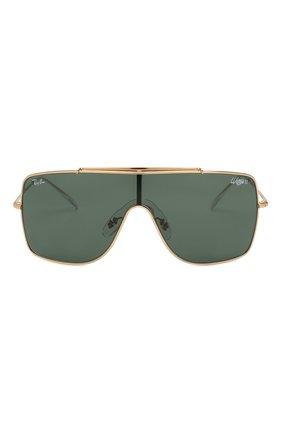 Мужские солнцезащитные очки RAY-BAN темно-зеленого цвета, арт. 3697-905071 | Фото 2