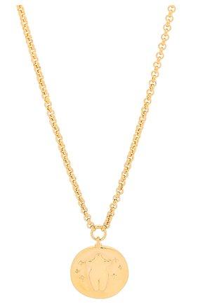 Женское колье emoji CHLOÉ золотого цвета, арт. CHC19AF012CB79DA | Фото 2