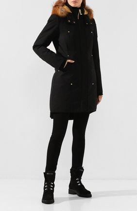 Женские замшевые ботинки phillis GIUSEPPE ZANOTTI DESIGN черного цвета, арт. I970001/006 | Фото 2