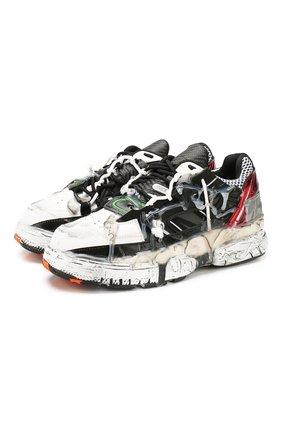 Комбинированные кроссовки Fusion | Фото №1