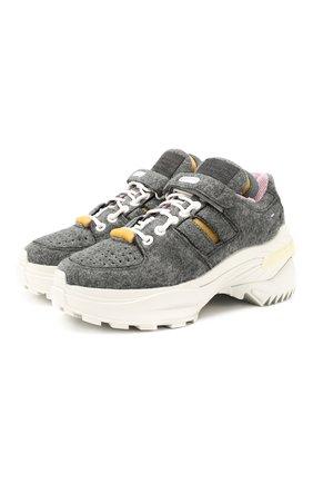 Текстильные кроссовки Retro Fit | Фото №1