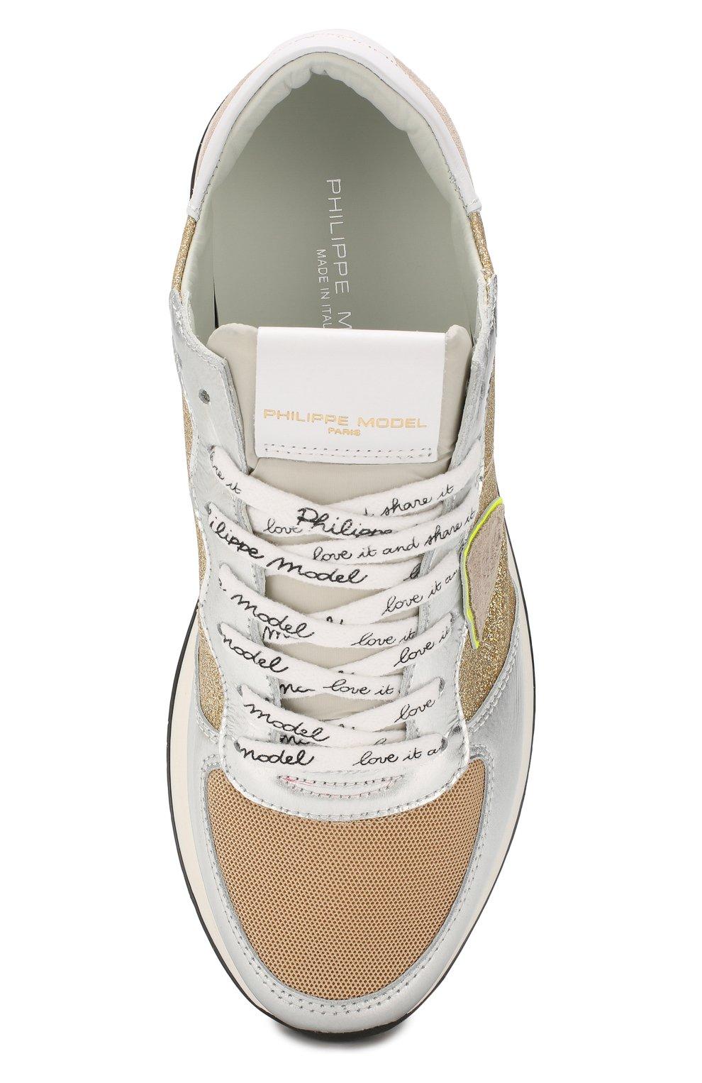 Комбинированные кроссовки TRPX | Фото №5