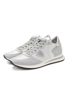 Комбинированные кроссовки TRPX | Фото №1