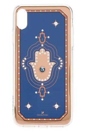 Мужской чехол для iphone xs max SWAROVSKI разноцветного цвета, арт. 5507386 | Фото 1