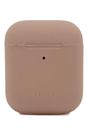 Чехол для airpods UNIQ розового цвета, арт. AIRPODS-LINOPNK | Фото 1