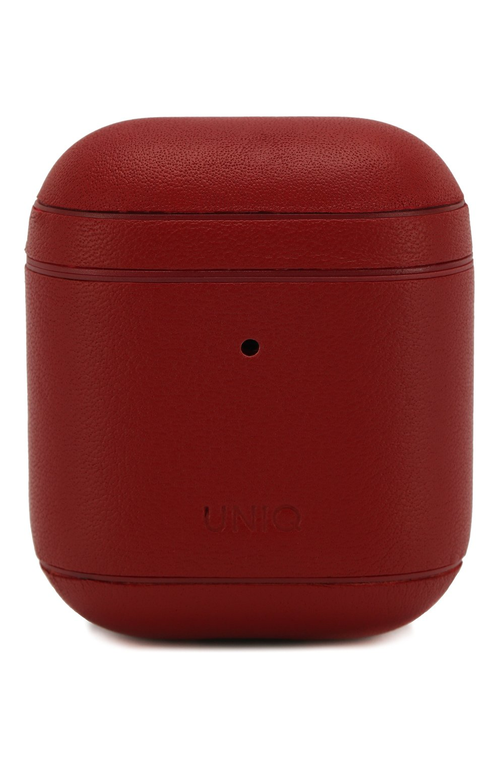 Мужской чехол для airpods UNIQ красного цвета, арт. AIRPODS(2019)-TERRED | Фото 1
