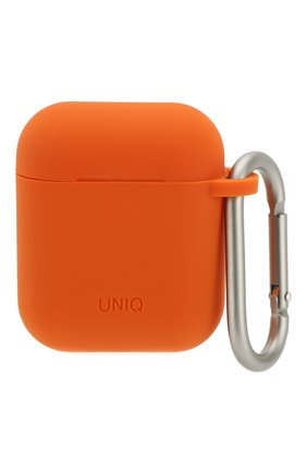 Мужской чехол для airpods UNIQ оранжевого цвета, арт. AIRPODS(2019)-VENORG | Фото 1