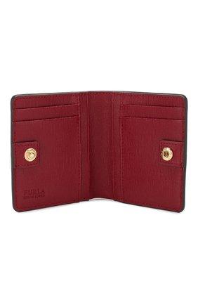 Женские кожаное портмоне babylon FURLA красного цвета, арт. PR74/B30 | Фото 3
