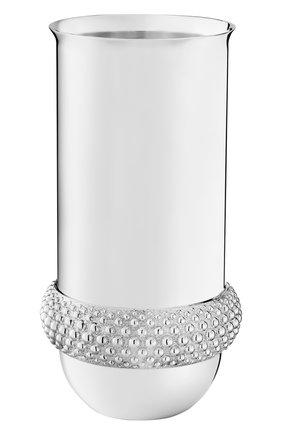Мужская ваза perles CHRISTOFLE серебряного цвета, арт. 04221016 | Фото 1