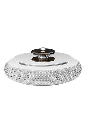 Мужская шкатулка perles CHRISTOFLE серебряного цвета, арт. 04255006 | Фото 1