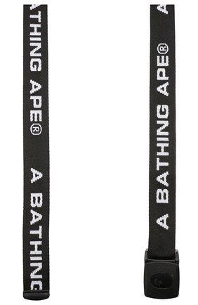 Мужской ремень BAPE черного цвета, арт. 1F80182020 | Фото 2
