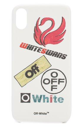Мужской чехол для iphone xs max OFF-WHITE белого цвета, арт. 0WPA010E19F100820188 | Фото 1