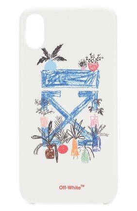 Мужской чехол для iphone xs max OFF-WHITE белого цвета, арт. 0WPA010E19F100630130 | Фото 1