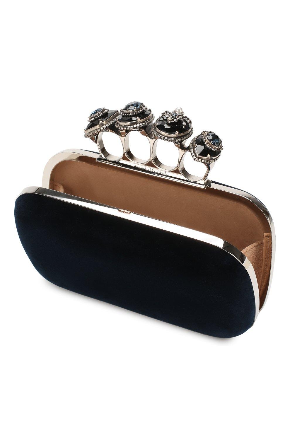 Клатч Jewelled Four Ring | Фото №4
