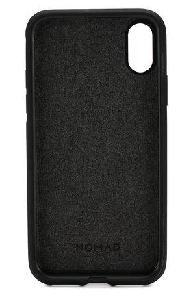 Мужской чехол для iphone x/xs NOMAD коричневого цвета, арт. NM21FR0000 | Фото 2