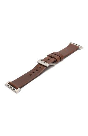 Мужской ремешок для apple watch 40mm NOMAD коричневого цвета, арт. NM1A3RSM00 | Фото 2