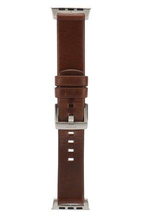 Мужской ремешок для apple watch 44mm NOMAD коричневого цвета, арт. NM1A4RSM00 | Фото 1