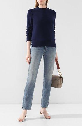 Женская кашемировый пуловер JOSEPH синего цвета, арт. JF003312 | Фото 2