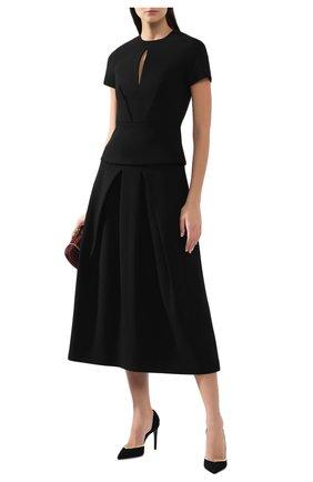 Женская топ ROLAND MOURET черного цвета, арт. PW19/S0688/F2196 | Фото 2