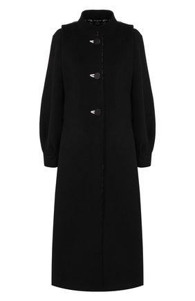 Женское пальто GIORGIO ARMANI черно-белого цвета, арт. 9WH0L038/T019V | Фото 1
