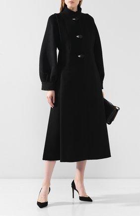 Женское пальто GIORGIO ARMANI черно-белого цвета, арт. 9WH0L038/T019V | Фото 2