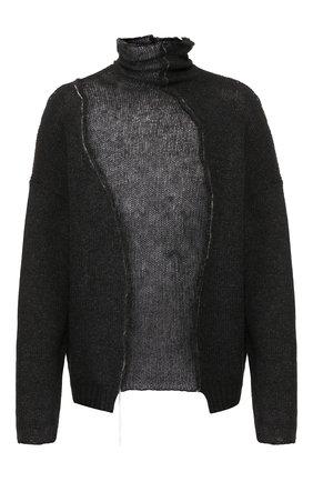 Мужской шерстяной свитер ISABEL BENENATO серого цвета, арт. UK22F19 | Фото 1