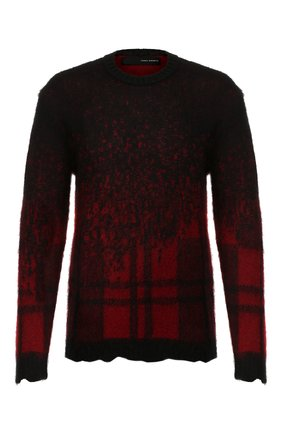 Мужской свитер ISABEL BENENATO черного цвета, арт. UK41F19 | Фото 1