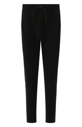Мужской шерстяные брюки ISABEL BENENATO черного цвета, арт. UK74F19 | Фото 1