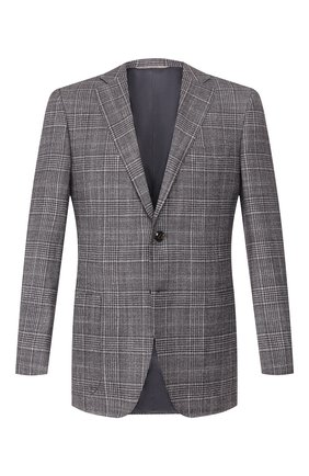Пиджак из смеси шерсти и шелка | Фото №1
